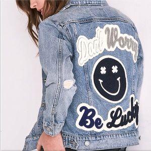 NWOT Lucky Brand Jean Jacket